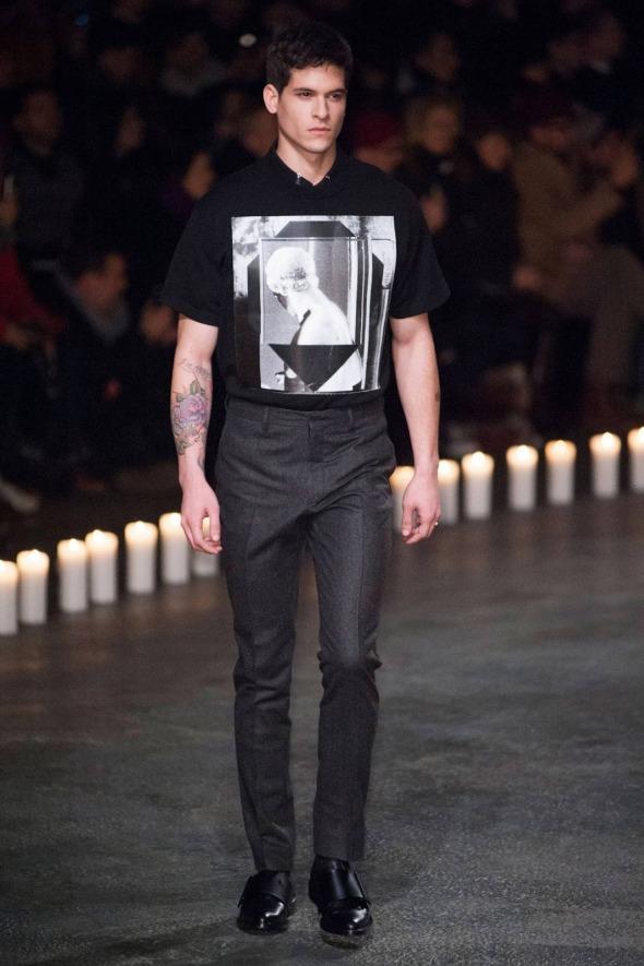 Diego Fragoso @ Givenchy Paris Prêt-à-Porter FW13