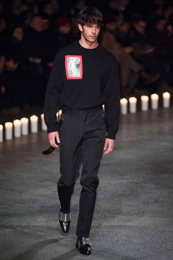 Ricardo Figueiredo @ Givenchy Paris Prêt-à-Porter FW13