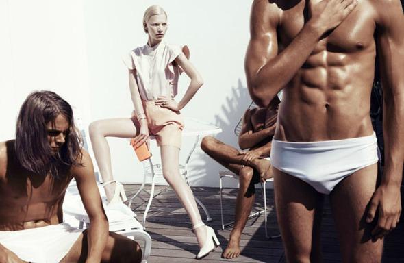 Aline Weber @ 25 Magazine #2 by Paola Kudacki 01
