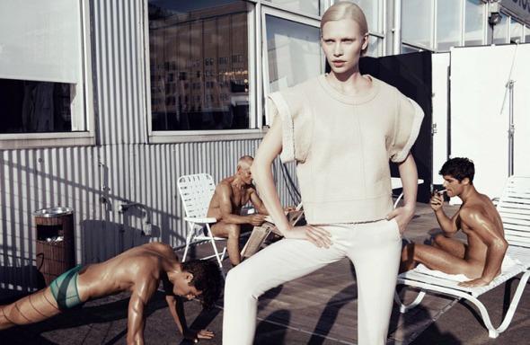 Aline Weber @ 25 Magazine #2 by Paola Kudacki 02