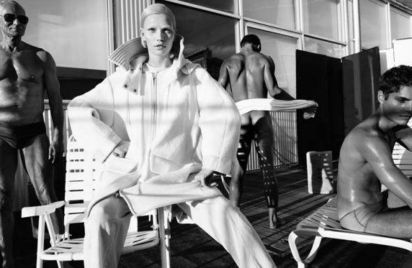 Aline Weber @ 25 Magazine #2 by Paola Kudacki 03