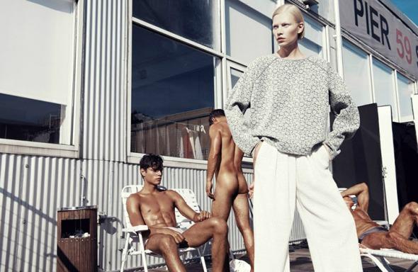 Aline Weber @ 25 Magazine #2 by Paola Kudacki 05