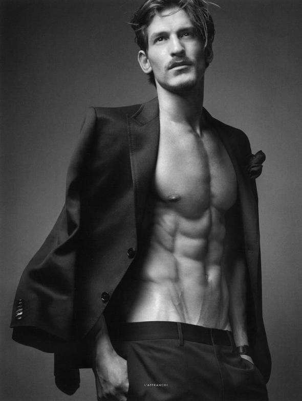 Jarrod Scott @ @ Vogue Hommes International by Sølve Sundsbø #17 02