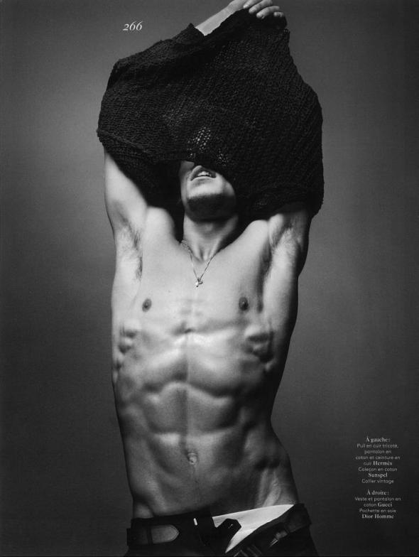 Jarrod Scott @ @ Vogue Hommes International by Sølve Sundsbø #17 03