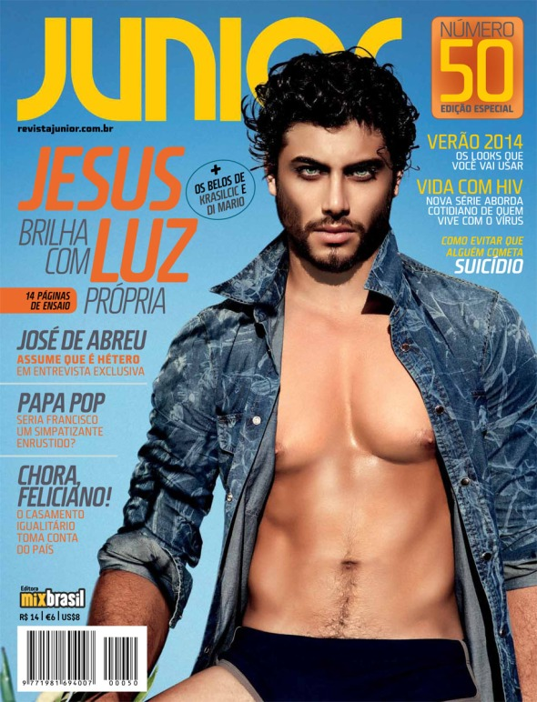 Jesus Luz @ JUNIOR #50 by Hamid Bechiri