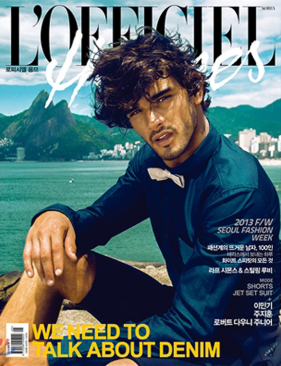 Marlon_Teixeira @  L'Officiel Hommes Korea by Lope Navo