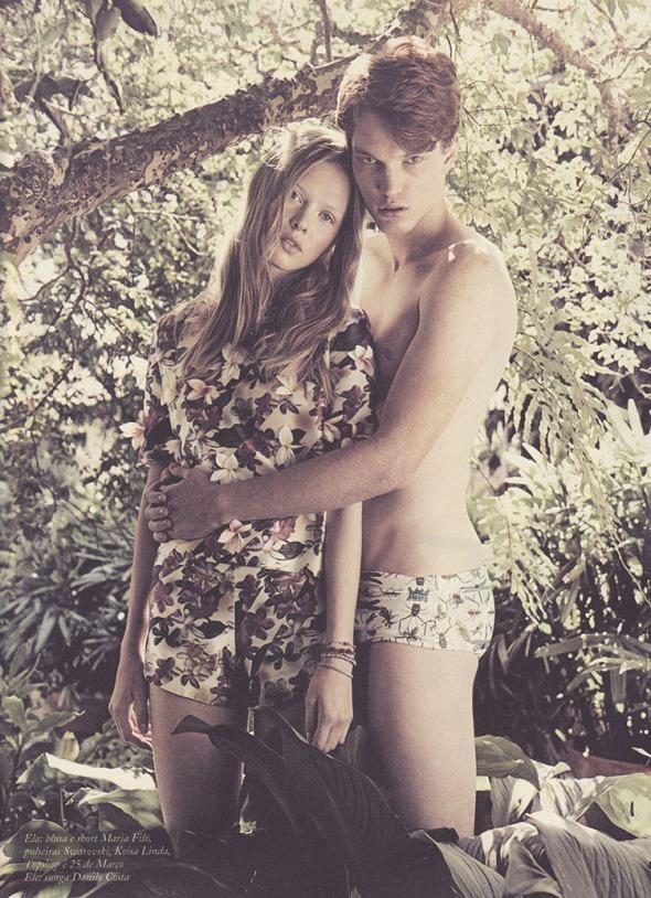 Bruno Novodvorski +  Daniela Witt @ 'ffw Mag! #34 by Nicole Heiniger 01