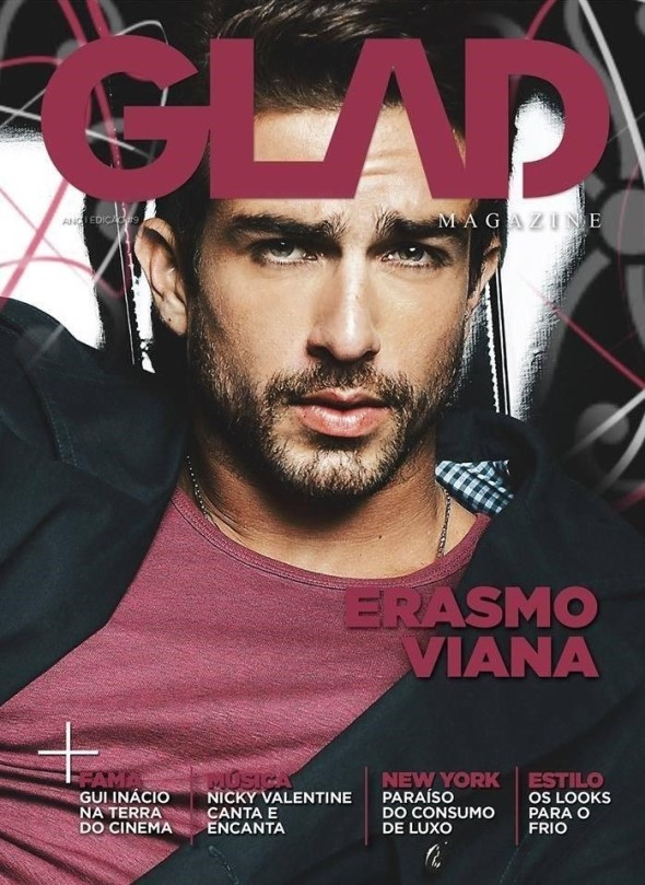 Erasmo Viana @ GLAD #9 Cover