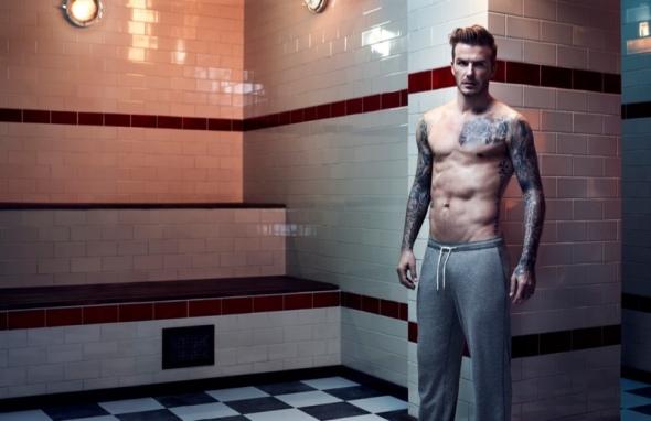 David Beckham @ HM 2013 01