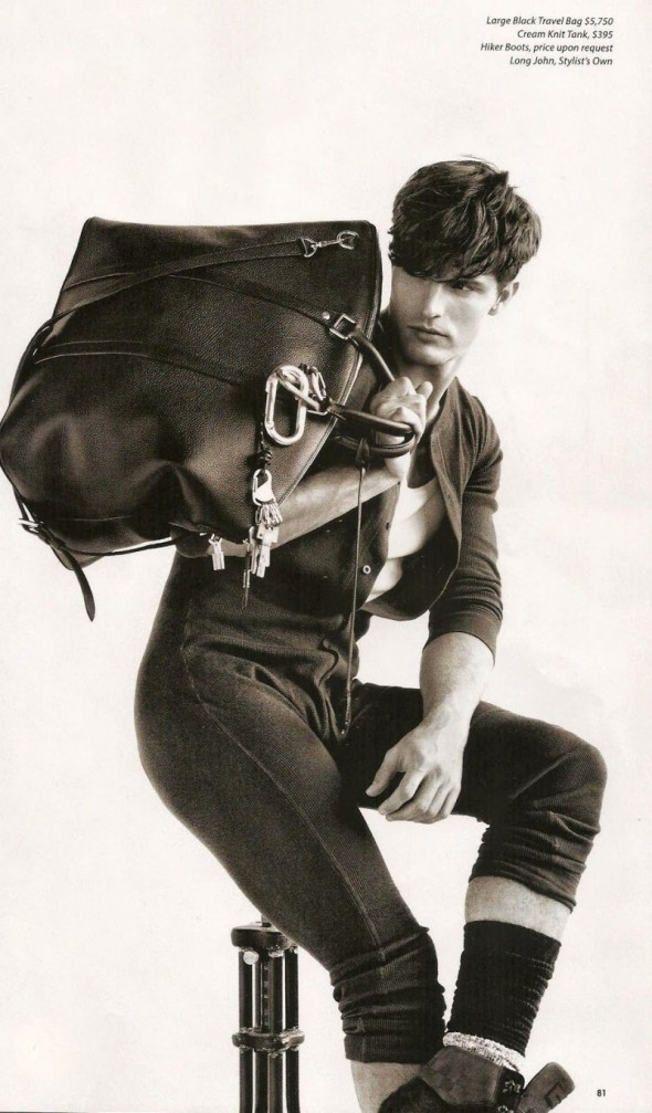 Diego Miguel @ Louis Vuitton - Essential Homme 07