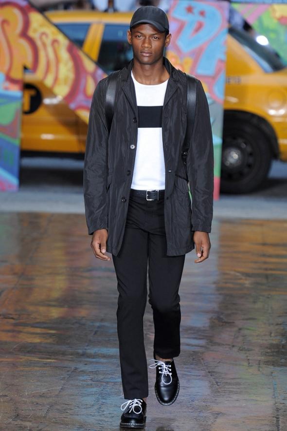 Lucas Cristino DKNY NY SS14