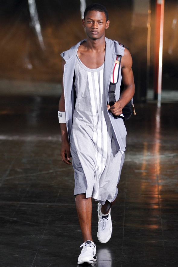 Lucas Cristino @ Y3 New York SS14