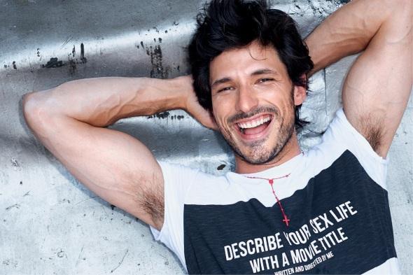 Andrés Velencoso @  Sergio K. by Terry Richardson 03