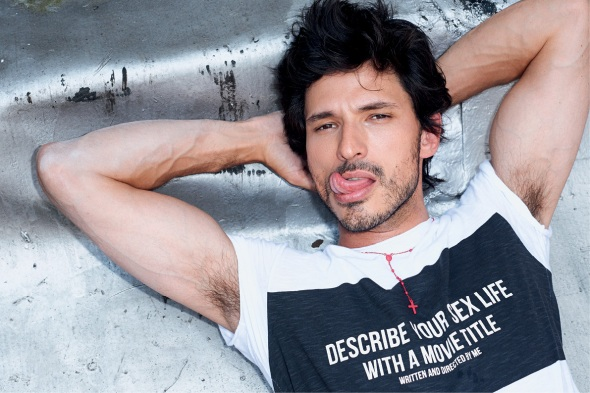 Andrés Velencoso @  Sergio K. by Terry Richardson 04