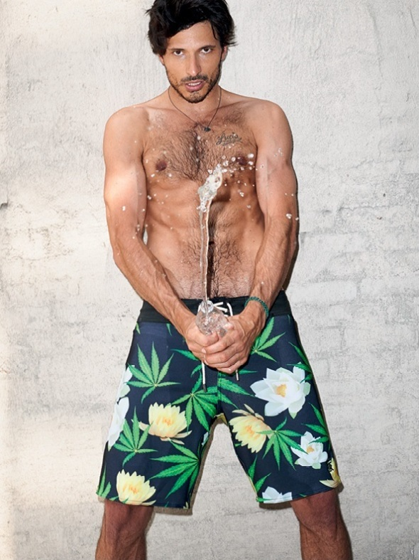 Andrés Velencoso @  Sergio K. by Terry Richardson 11