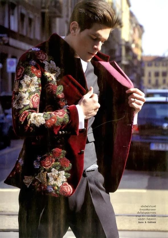 Diego Fragoso @ Harper's Bazaar Men Thailand 01