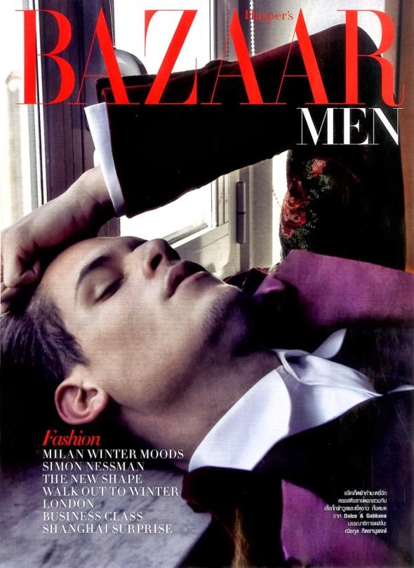 Diego Fragoso @ Harper's Bazaar Men Thailand 08