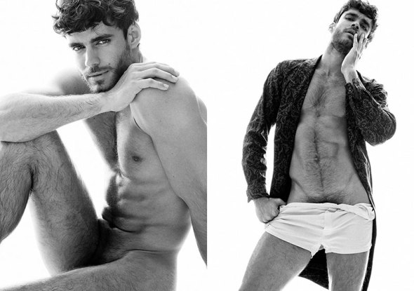 Caio César @ Made in Brazil Magazine #7 by Greg Vaughan 03