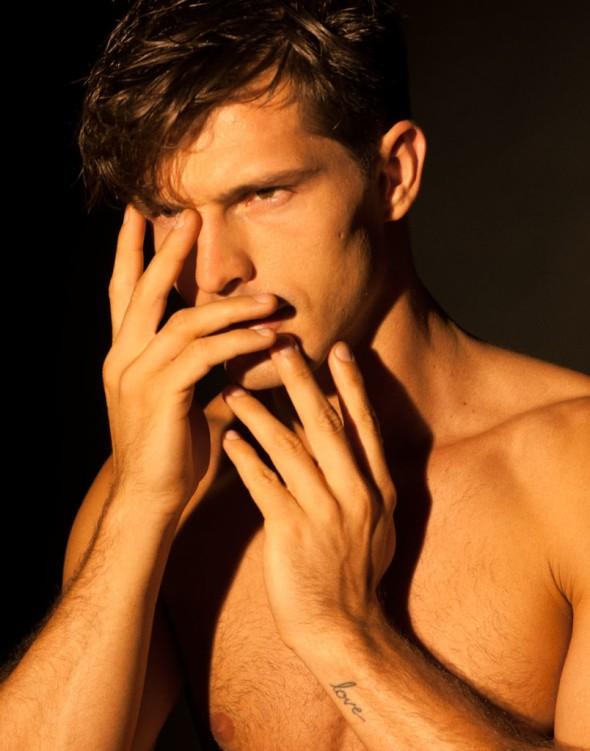 Diego Miguel @ Flaunt Magazine by Branislav Jankic 01