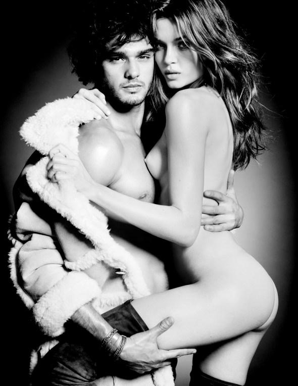 Marlon Teixeira + Josephine Skriver Lui Magazine by Tom Munro 03