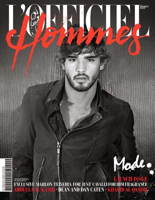 Marlon Teixeira @ L'Officiel Hommes Middle East #1 by Belinda Muller 01