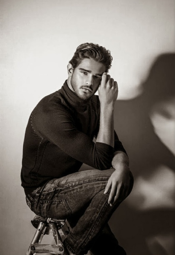 Marlon Teixeira @ L'Officiel Hommes Middle East #1 by Belinda Muller 02