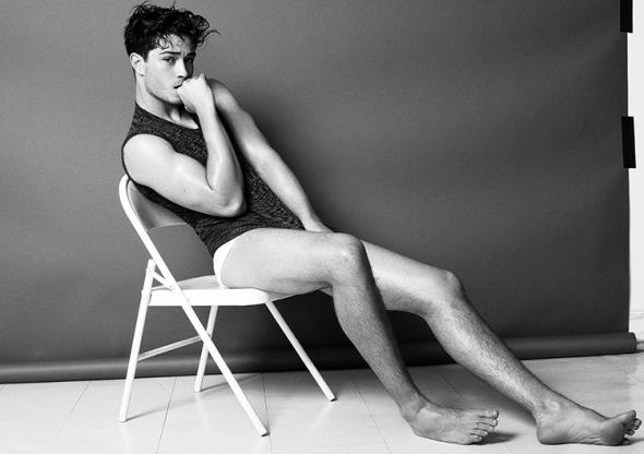 Francisco Lachowski @ Made in Brazil Magazine #7 Greg Vaughan 03