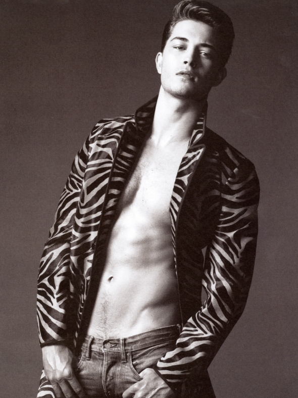 Francisco Lachowski @ Made in Brazil Magazine #7 Greg Vaughan 06