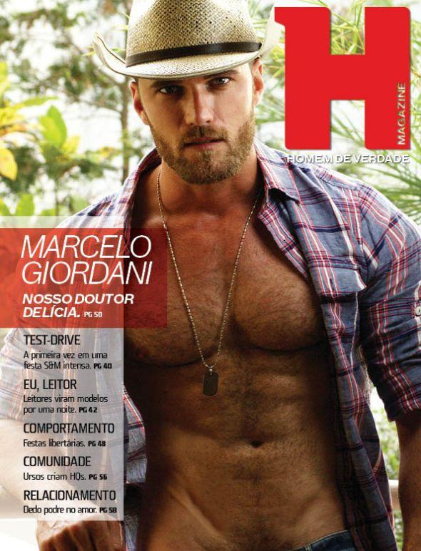 Marcelo Giordani @ Homem JUNIOR #57 by Gabriel Lucas