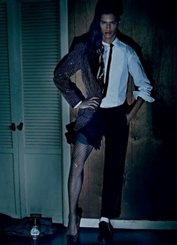 Reinaldo Berthoti + André Bona @ Candy Magazine #7 by Steven Klein 01