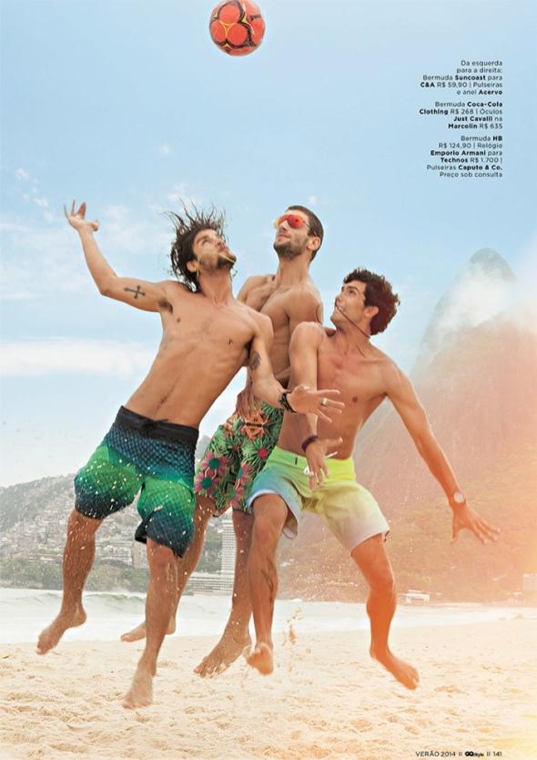Pablo Morais + Saulo Melo + Luca Pougy @ GQ Style by Franco Amendola 01