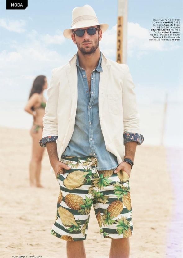 Pablo Morais + Saulo Melo + Luca Pougy @ GQ Style by Franco Amendola 02
