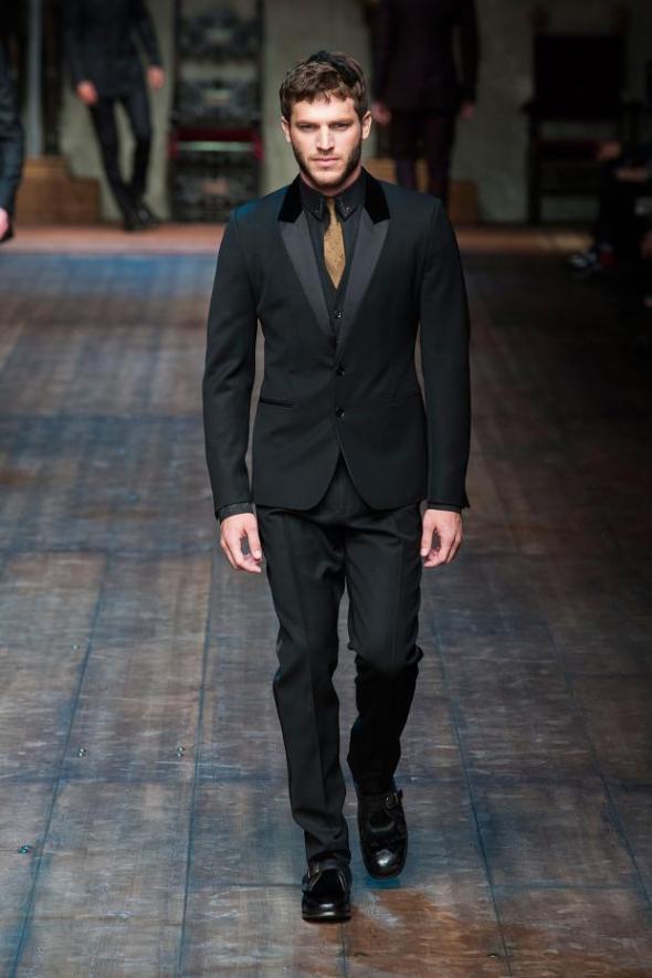 Raphael Lacchine  @ Dolce&Gabbana FW14