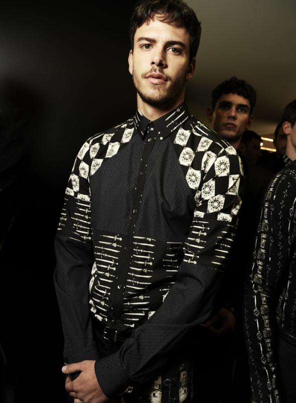 Ricardo Fgueiredo @ Dolce Gabbana Milano FW14