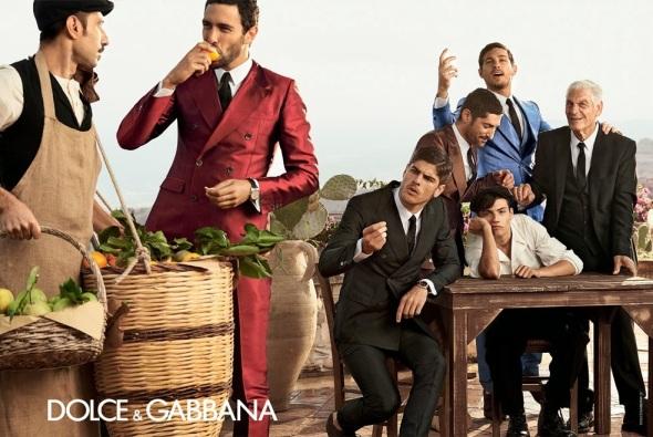 Tony Ward + Adam Senn + Noah Mills + Evandro Soldati @ Dolce&Gabbana 05