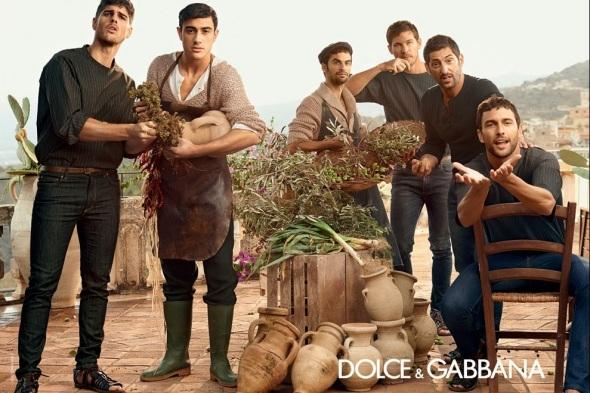 Tony Ward + Adam Senn + Noah Mills + Evandro Soldati @ Dolce&Gabbana 06