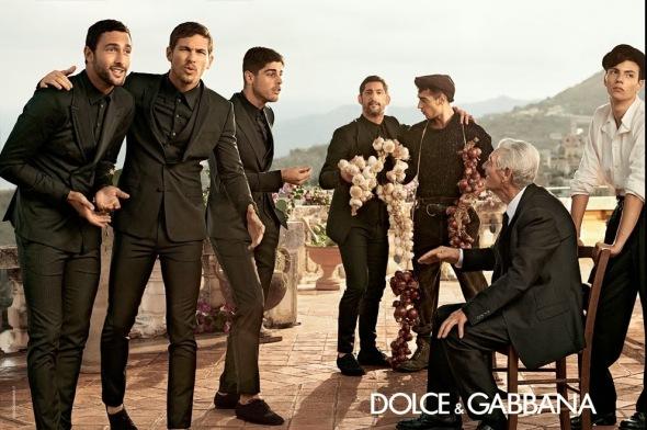 Tony Ward + Adam Senn + Noah Mills + Evandro Soldati @ Dolce&Gabbana 07