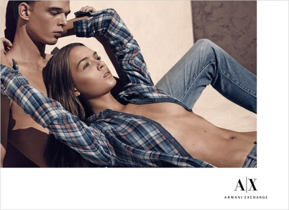 Andre Bona @ Armani Exchange by Mikael Jansson