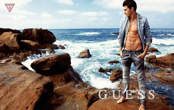 Gui Fedrizzi @ Guess SS14 by Yu Tsai 03