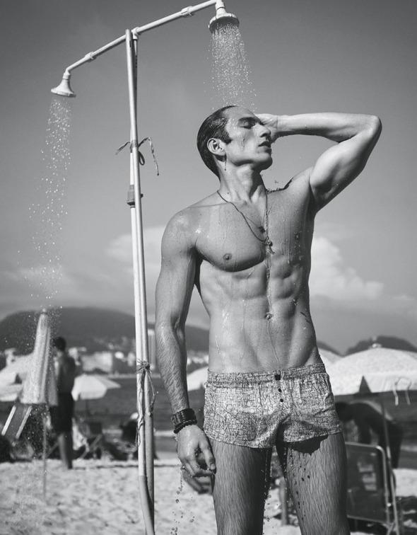 Ivo Cavalcanti + Raphael Sander @ Harper's Bazaar Men by Yossi Michaeli 02