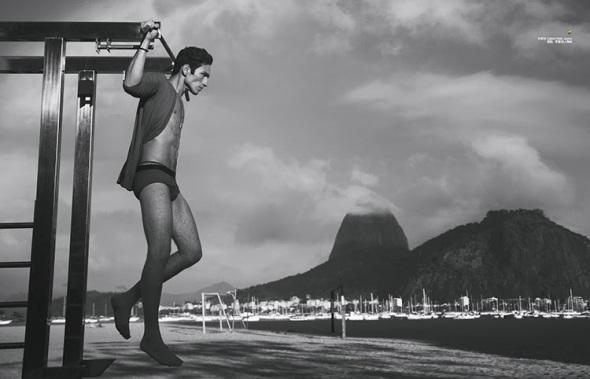 Ivo Cavalcanti + Raphael Sander @ Harper's Bazaar Men by Yossi Michaeli 05
