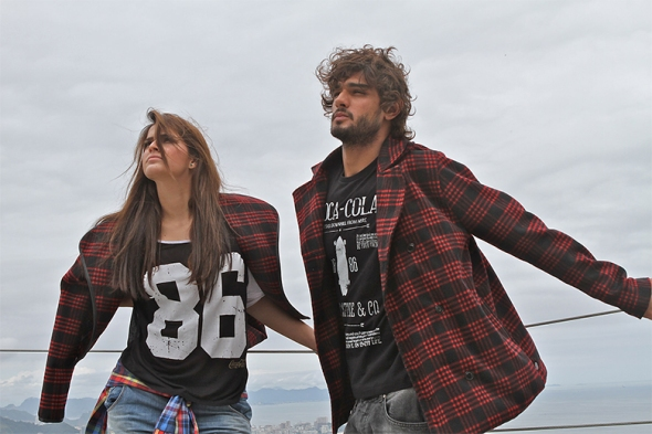 Marlon Teixeira + Bruna Marquezine @ Making of Coca-Cola Jeans 02