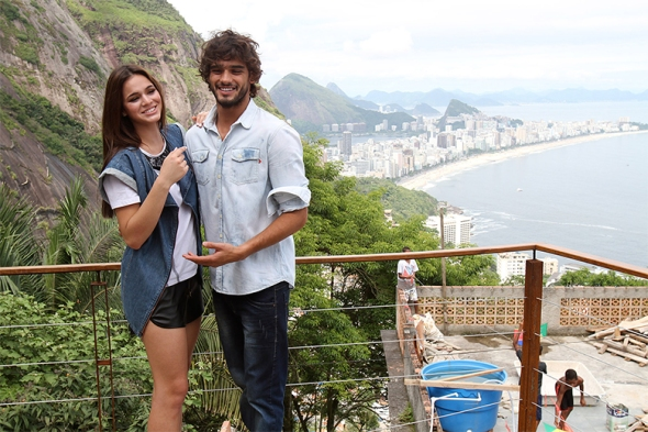 Marlon Teixeira + Bruna Marquezine @ Making of Coca-Cola Jeans 03