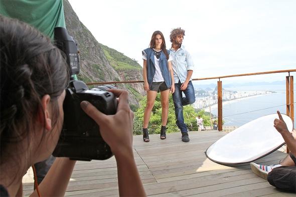 Marlon Teixeira + Bruna Marquezine @ Making of Coca-Cola Jeans 04