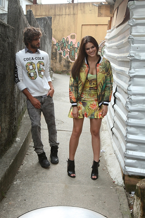 Marlon Teixeira + Bruna Marquezine @ Making of Coca-Cola Jeans 05
