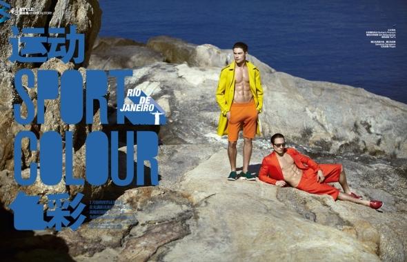 Raphael Sander @ Harper's  Bazaar Men by Yossi 01