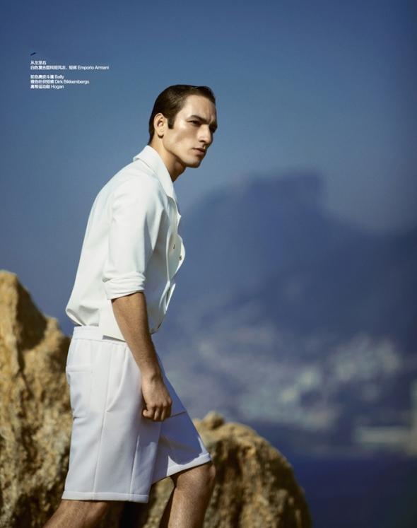 Raphael Sander @ Harper's  Bazaar Men by Yossi 02