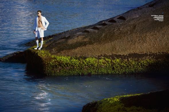 Raphael Sander @ Harper's  Bazaar Men by Yossi 03