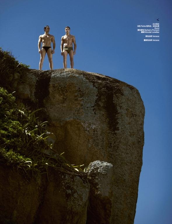 Raphael Sander @ Harper's  Bazaar Men by Yossi 05