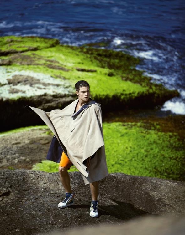 Raphael Sander @ Harper's  Bazaar Men by Yossi 09